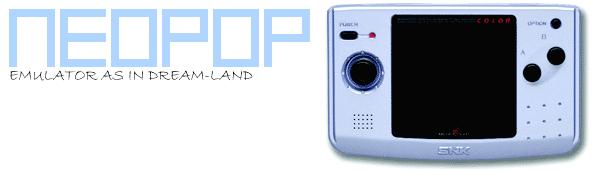 SNK Neo-Geo Pocket Emulator + NeoPOP Download